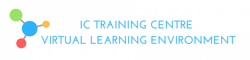 IC Training Centre - Virtual Learning Environment